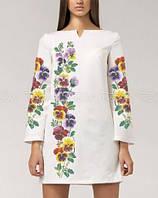 7597f0f4d0d411 Заготовка для вишивки жіночого плаття бісером або нитками габардин білий