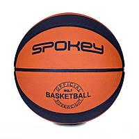Баскетбольный мяч Spokey DUNK размер 7 OrangeBlack, КОД: 199264