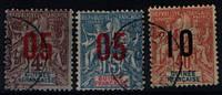Подборка Французской Гвинеи 1912 года.