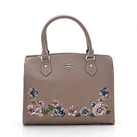 Женская сумка D. Jones d.pink (т.розовый), фото 1