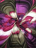 Женский теплый кашемировый платок Турция 90х90 см (цв.7), фото 2