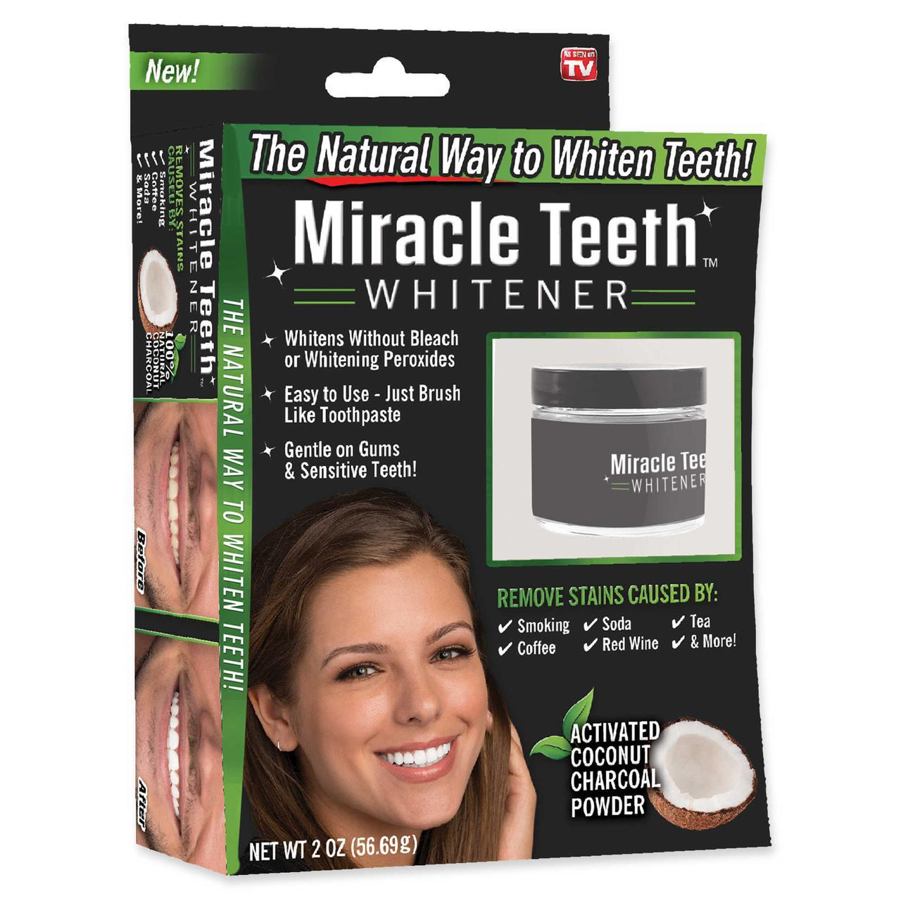 Отбеливатель зубов Miracle Teeth Whitener во Владимире