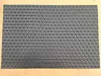 Коврик резиновый черный 60 х 40, фото 1