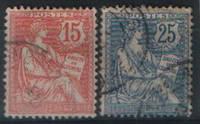 Почтовые марки Франции 1902 года