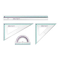 Набор геометрический 4 предмета Herlitz
