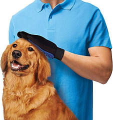 Перчатка Fmax True Touch для легкого вычесывания шерсти 2171563, КОД: 218918