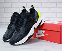 Женские кроссовки Nike M2K Tekno Black/White/Green