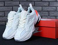 Мужские кроссовки Nike M2K Tekno White/Orange, фото 1