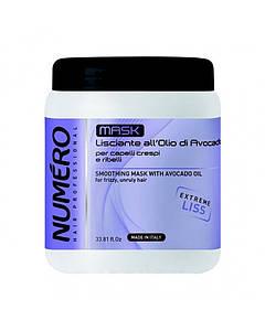 NUMERO Маска для разглаживания волос с маслом авокадо 1000мл (5157) (шт.)