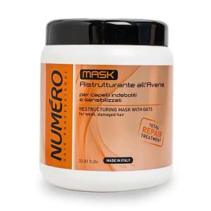 NUMERO Маска питательная для волос с маслом карите 1000мл (9712) (шт.)