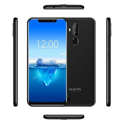 "Смартфон Oukitel C12 Pro Black 4G 6.18"" 2/16Гб 3300мАч в наличии + чехол, фото 2"