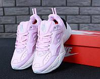 Женские кроссовки Nike M2K Tekno Pink/Black, фото 1