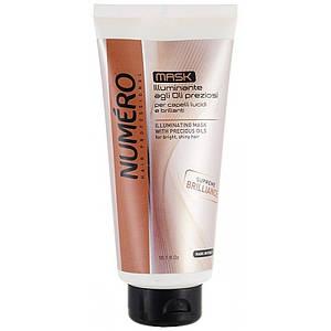 NUMERO Маска для блеска волос на основе ценных масел 300мл (шт.)