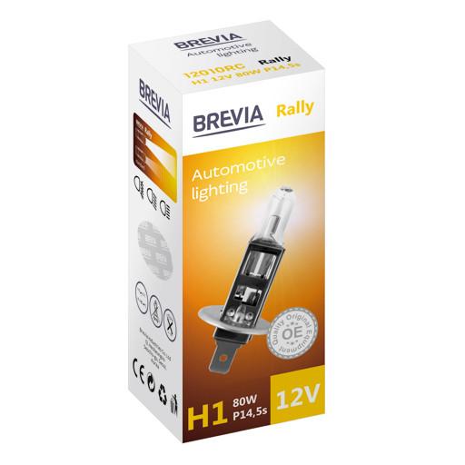 Галогеновая лампа Brevia H1 Rally 12v/80w