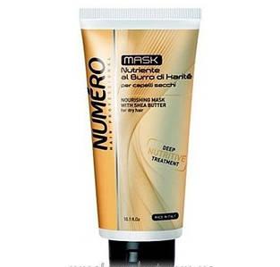 NUMERO Маска питательная для волос с маслом карите 300мл (шт.)