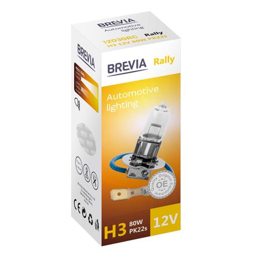 Галогеновая лампа Brevia H3 Rally 12v/80w