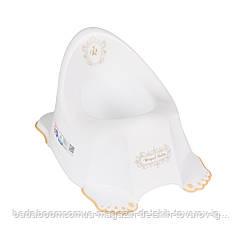 Горшок Tega Royal Baby RL-001 нескользящий 103-Z white-gold