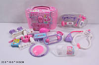 Игровой детский медицинский набор 5615В в чемодане