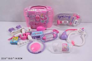 Ігровий дитячий медичний набір 5615В у валізі