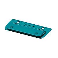 Дырокол мини Herlitz 2-3 листа Colour Blocking Caribbean Turquoise бирюзовый (50015832T)