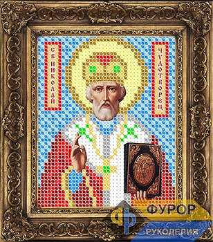 Схема для вышивки бисером иконы Николай Чудотворец (Угодник) (ИБ6-001)