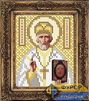 Схема для вышивки бисером иконы Николай Чудотворец (Угодник) (ИБ6-002)