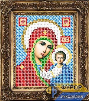 Схема для вышивки бисером иконы Казанская Пресвятая Богородица (ИБ6-003)