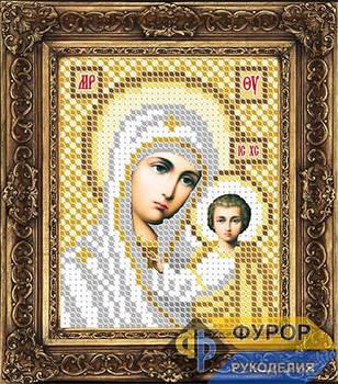 Схема для вышивки бисером иконы Казанская Пресвятая Богородица (ИБ6-004)