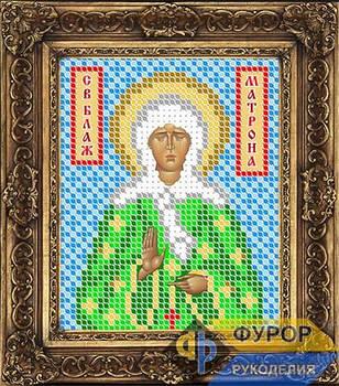 Схема для вышивки бисером иконы Матрона Святая Блаженная (ИБ6-009)