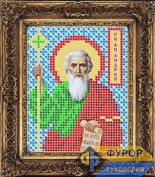 Схема для вышивки бисером иконы Андрей Первозванный Святой Апостол (ИБ6-017)