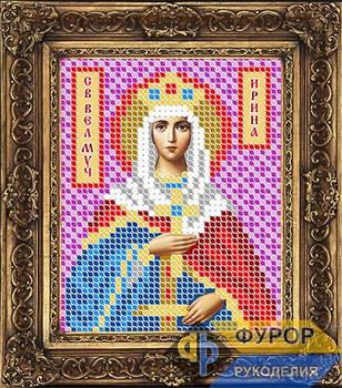Схема для вышивки бисером иконы Ирина Святая Великомученица (ИБ6-018)