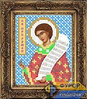 Схема иконы для вышивки бисером - Роман Сладкопевец Святой Преподобный, Арт. ИБ6-037