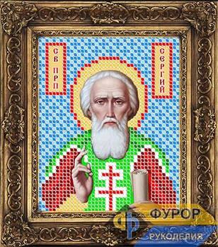 Схема для вышивки бисером иконы Сергей Радонежский Св. Преподобный (ИБ6-022)