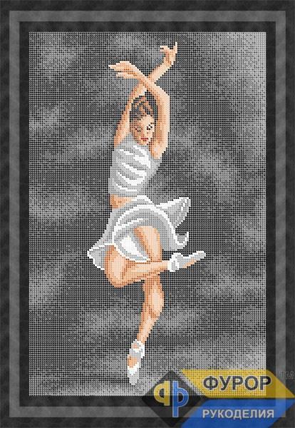 Схема для вышивки бисером картины Балерина (ЛБп3-083-2)