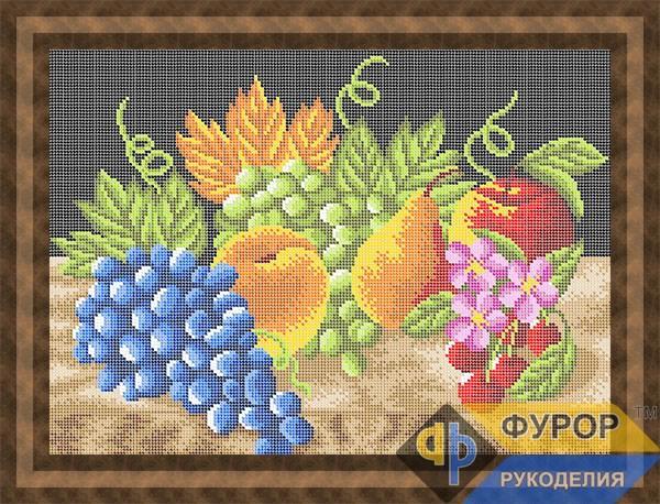 Схема для вишивки бісером картини Фруктовий натюрморт (НБп3-008-1)