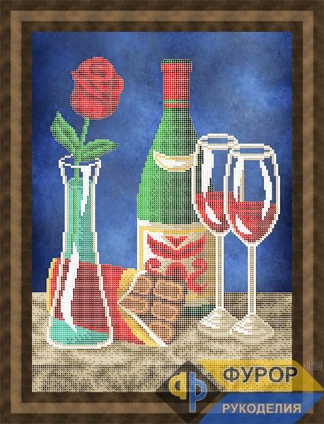 Схема для вышивки бисером картины Романтический вечер (НБч3-151)
