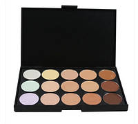Палитра консилеров для визажа, 15 разных оттенков, профессиональный макияж, корректор-основа, база под тени