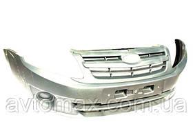 Бампер передний ВАЗ 2190 Лада Гранта крашенный, Серый базальт 242
