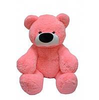Большой розовый мягкий медведь 140 см