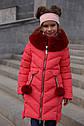 Зимнее пальто на девочку Ясмин с мутоном Тм Nui Very  Размеры 116- 158 , фото 8