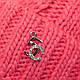 Шапка c двумя помпонами и шарф хомут для девочки, р. 46-48, фото 5