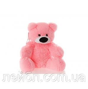 Мягкий розовый плюшевый мишка 110 см