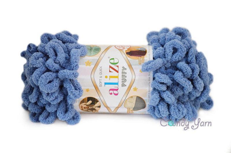 Alize Puffy, Голубой №374