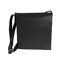 Сумка-планшет вертикальная, черная, классическая, фото 1