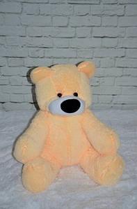 Персиковий плюшевий ведмедик 110 см
