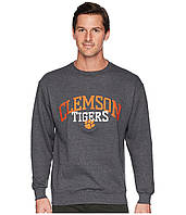 Свитер Champion College Clemson Tigers Eco Powerblend Crew Granite Heather - Оригинал, фото 1