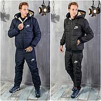 Зимний Мужской Спортивный Костюм Nike - Найк на овчине!, фото 1