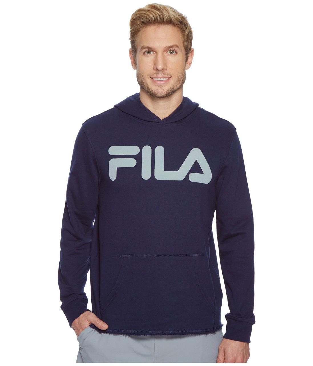 817c1e96 Толстовка Fila Locker Room Hoodie Navy/High Rise - Оригинал - FAIR -  оригинальная одежда
