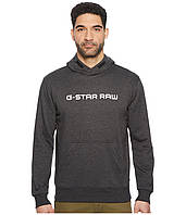 Толстовка G-Star Loaq Hooded Long Sleeve Sweater Dark Black Heather - Оригинал
