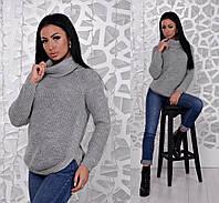 Теплый свитер с широким воротником Daria, фото 1